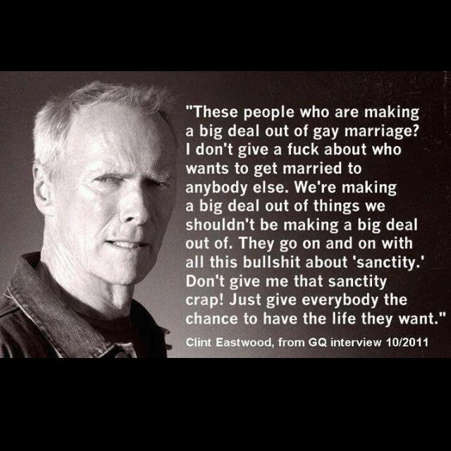 gerontophilia to the nth degree... eastwood defines democracy!