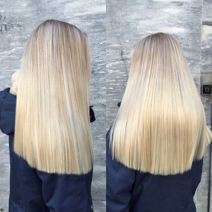 Clean blonde ❄️ #wella #clean #blonde #hair #hairinspo #longhair #winter #coldblonde #fresh #shine #olaplex #olaplexnorge #norway #hairdresser