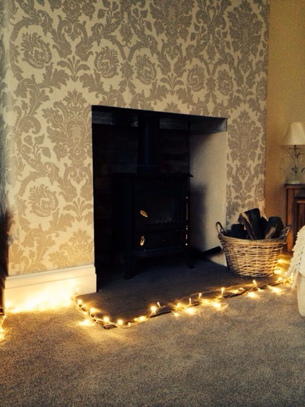 Fireplace Design fireplace lights : 286 best Home Fairy Lights images on Pinterest
