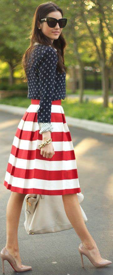 FASHION15 Stunning 4th of July Outfits That You'll Love