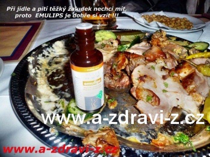 Emulips - český přírodní produkt pro lepší trávení tuků, zažívání, vyprazdňování,...