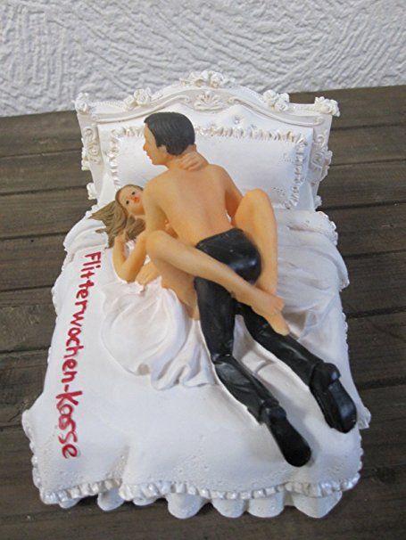 Brautpaar Spardose Sparschwein Flitterwochen Kasse L: http://amzn.to/2rGoMuA