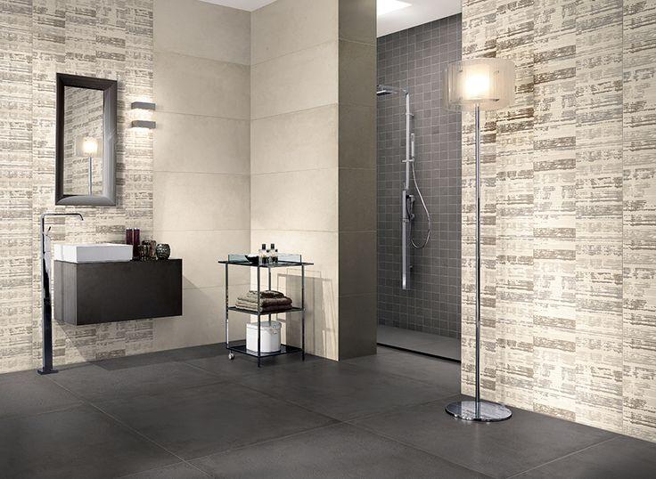 Coal 90x90 RTT - Mosaico 30x30 - Off-White 45x90 RTT - Ribbon 45x90 RTT
