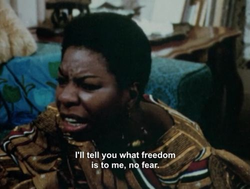 What Happened, Miss Simone? (2015) Oscar nominee documentary about one of music legends.