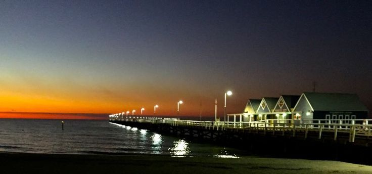 Busselton Jetty at dusk