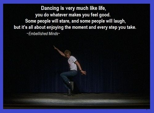 quotes about dance and life
