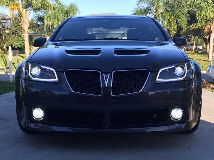 Pontiac G8 GT with Spec-D lights. Led high/low beams and fog lights.