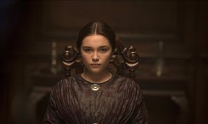 Sphinx and minx … Florence Pugh.