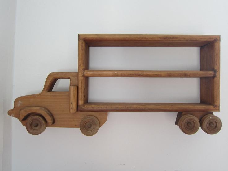 Truck Shaped Wall Shelf Rustic Vintage Ian Matthew