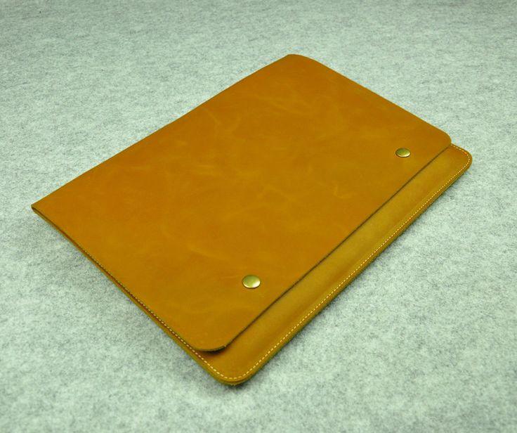 Leather New Macbook Case12Macbook Sleeve12Macbook by ZzzSun