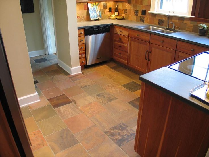 Too Much   The Floor And Backsplash Are Too Similar Google Image Result For  Http: · Slate Kitchen FloorsSlate FlooringFrench ...