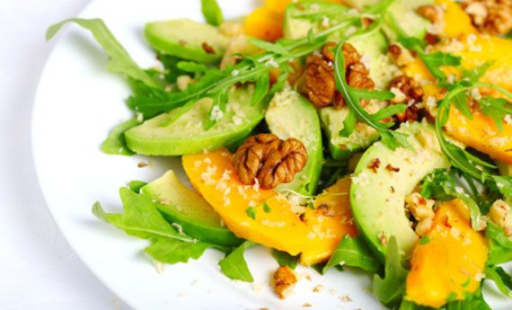 Insalata estiva in stile tropicale con mango e avocado! | Cambio cuoco