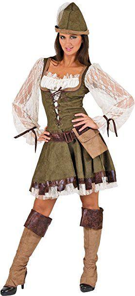 Robin Hood Lady Kostüm Damen Gr. 36 38