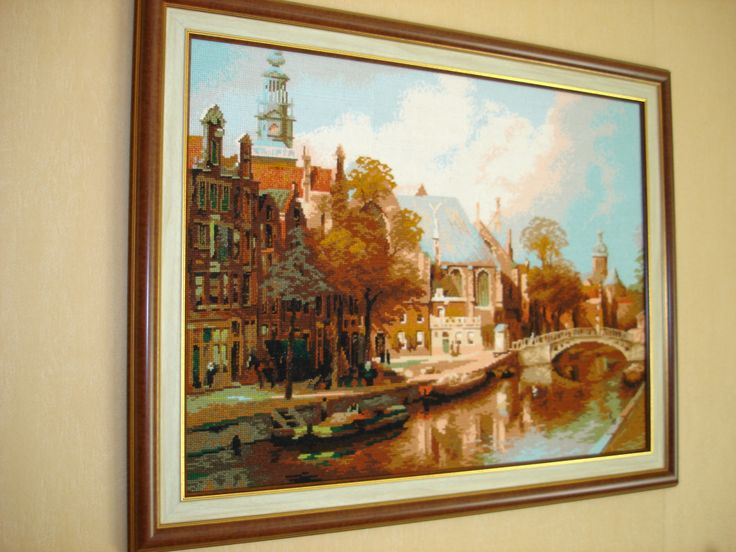 """""""Амстердам"""". Оригинальный набор от Риолис."""