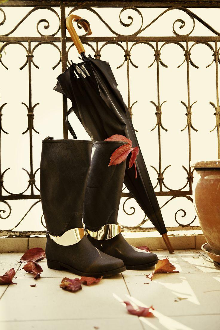 Dali Gold Raining Boots www.keepfred.gr