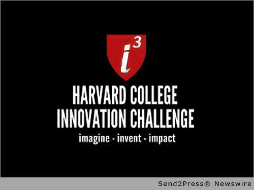 Harvard Innovation Challenge 2015: Student Showcase and Award Ceremony April 9 :: CAMBRIDGE, Mass., April 9, 2015 (SEND2PRESS NEWSWIRE) -- The Harvard College Student Startup Showcase and Award Reception will take place Thursday, April 9, from 6-8 p.m. in the Harvard Faculty Club, according to Tiffany Lazo-Cedre, Co-Director of the i3 Innovation Challenge.