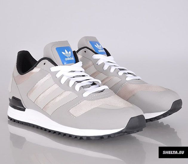 Blue Mens Grey Light Adidas Zx700 Retro Running Aqua Shoes Varied Style