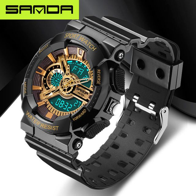 2017 new listing fashion watches men watch waterproof sport military G style S Shock watches men's luxury brand