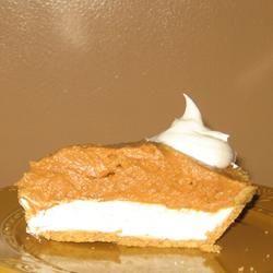 Double Layer Pumpkin Pie Allrecipes.com