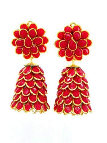 Sutrali Red Pachi Jhumka for Women. Sutrali http://www.amazon.in/dp/B00HJWMRHQ/ref=cm_sw_r_pi_dp_SeA6wb0JZ82VV