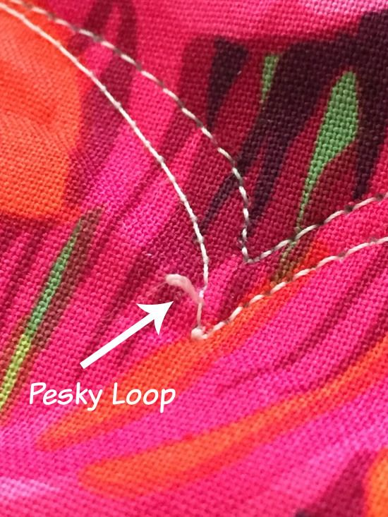 Fixing Loops || Orchid Owl Quilts