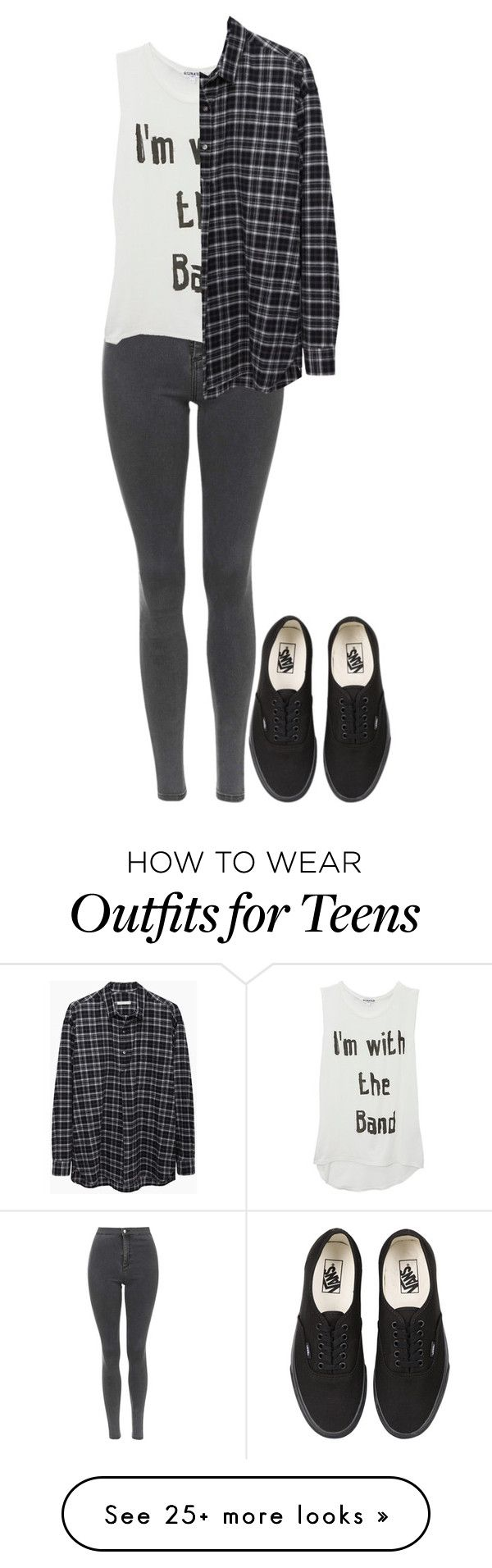 """""""Untitled #448"""" by fluffyhemmings on Polyvore featuring Topshop, 6397 and Vans"""