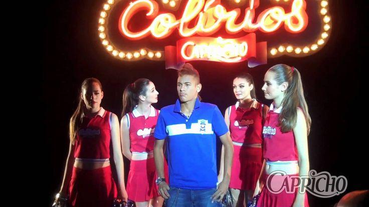 Neymar entrou pro time dos Colírios Capricho! - Bastidores