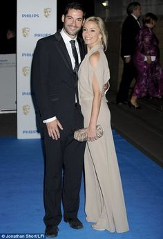 Tamzin Outhwaite and husband Tom Ellis had their second daughter