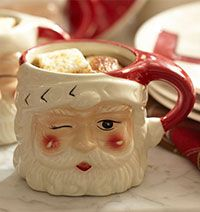 Santa mug... perfect thing for christmas morning :)