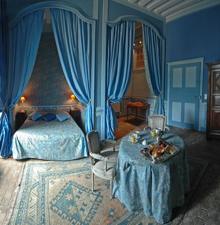 Chateau de Gizeux (France) - chambre Marie d'Yvetôt