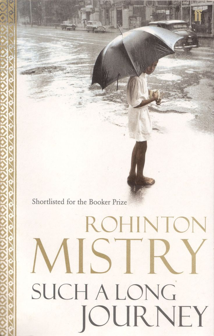 Such a Long Journey by Rohinton Mistry Governor General's Literary Awards  Fiction Winner 1991 #GovernorGeneral