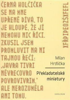 Obálka titulu Překladatelské miniatury