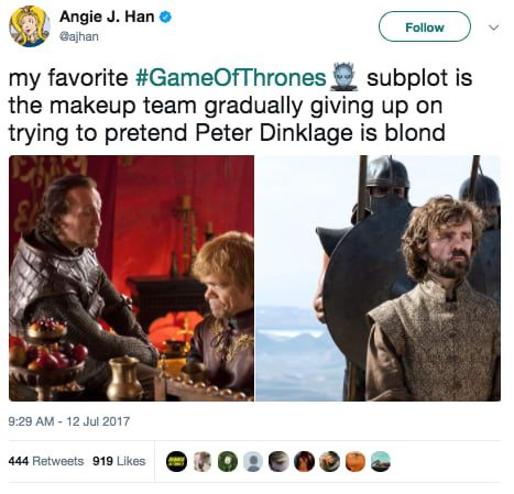"""Here Are All The Funniest Tweets About """"Game Of Thrones"""" Season 7"""