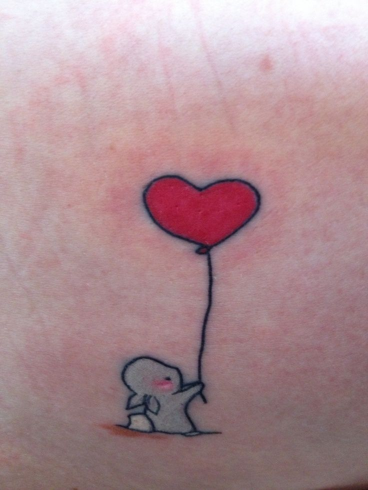small-bunny-and-balloon-tattoo-1390368059k4n8g Look at this amazing rabbit bunny tattoo