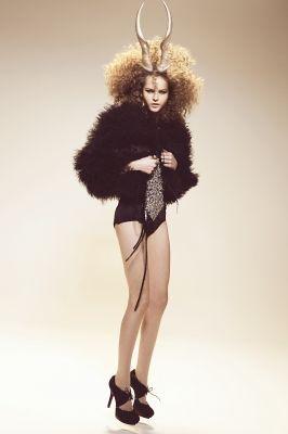 Inge de Lange, fashion styling, Animal Attraction
