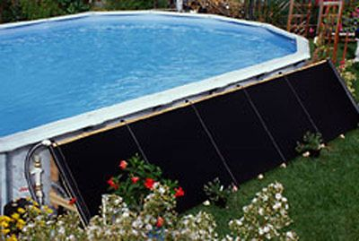 Pool Heaters and Solar Panels 42239: 4 X20 Solar Heating Panel Kit For 18 Ft Round Above Ground Swimming Pool -> BUY IT NOW ONLY: $659.98 on eBay!