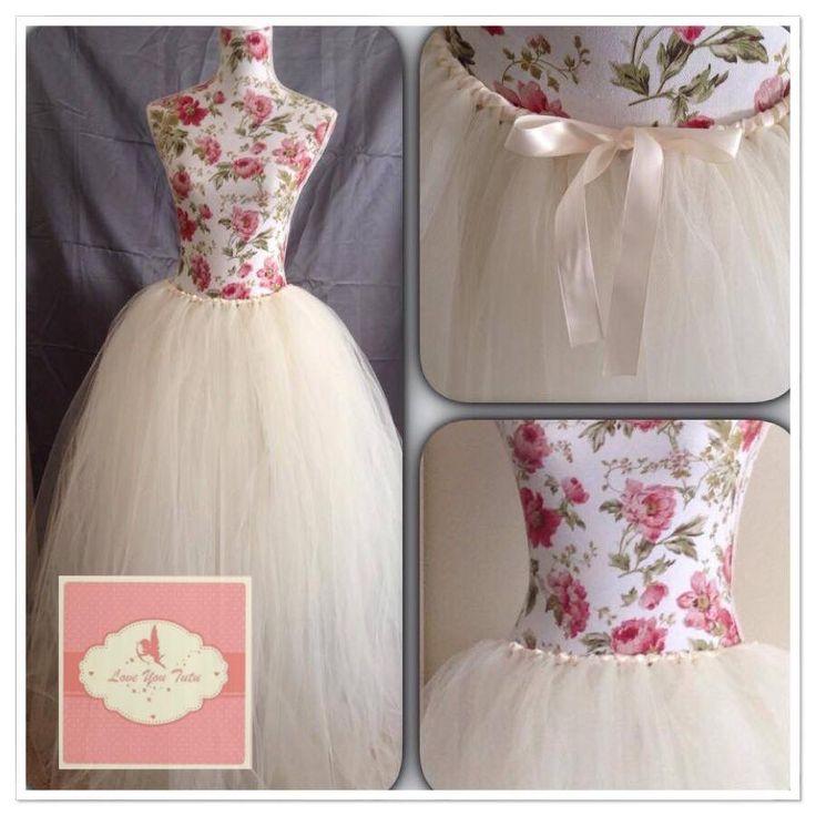 long ivory tutu skirt long rose mauve tutu Long tutu skirt made to order any colour #longtutu #loveyoututu