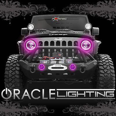 2007-2014 Jeep Wrangler JK LED Faros de Oracle + Kit de halo de luz de niebla Combo-Rosa | eBay Motors, Piezas y accesorios, Piezas para autos y camionetas | eBay!