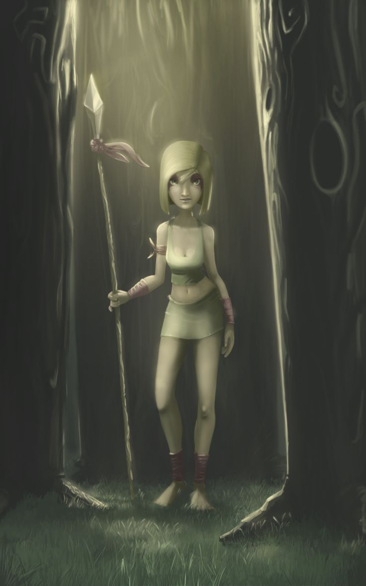 Character Design, Concept, digital painting, girl, forest lightning  eecasian.tumblr.com