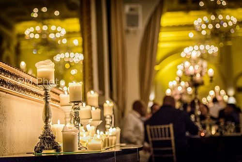 Curzon Hall Candle light