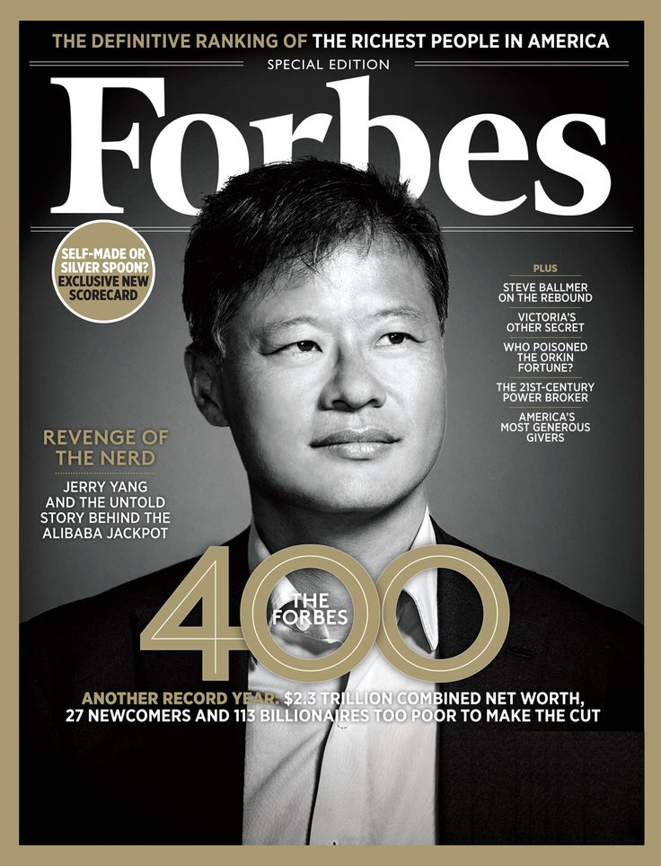 The Forbes 400 - The Richest People in America
