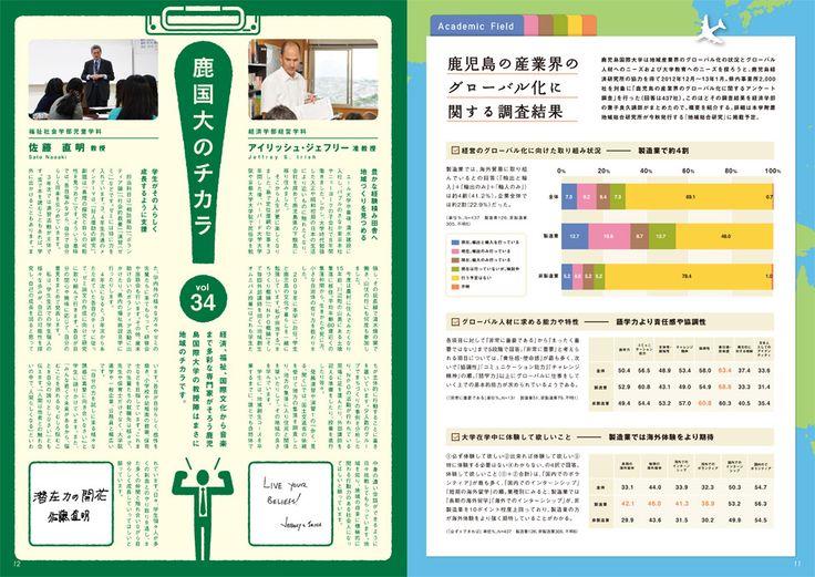鹿児島国際大学 広報誌「みなみ風 -夏号-」 | ホームページ制作 パンフレット作成 鹿児島の制作会社クラウド
