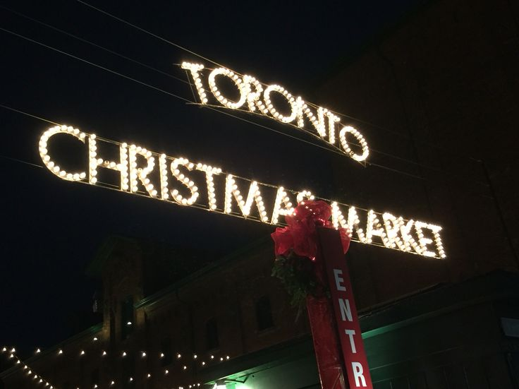 Toronto's distillery district Christmas Market
