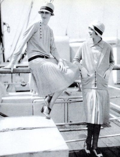 Fashion by Chanel - 1920's - Photo by Edward Steichen (American, 1879- 1973) LOVE THIS!