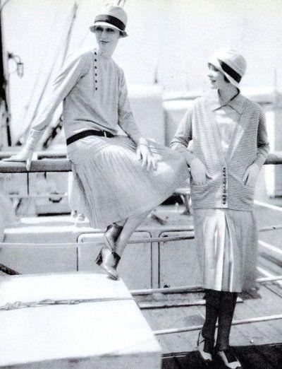 Fashion by Chanel - 1920's - Photo by Edward Steichen