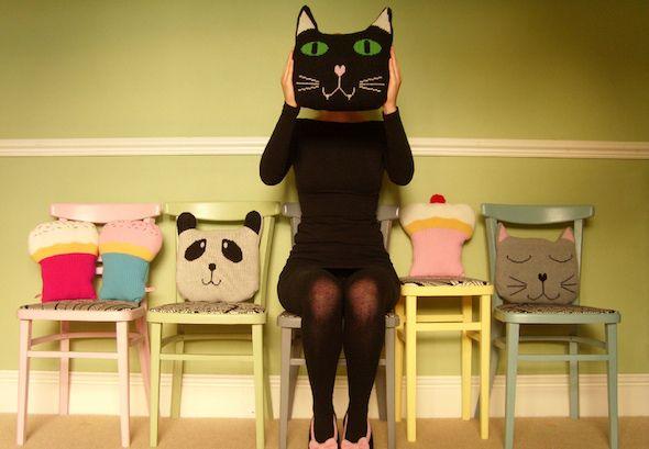 Almofadas de Gatinho.