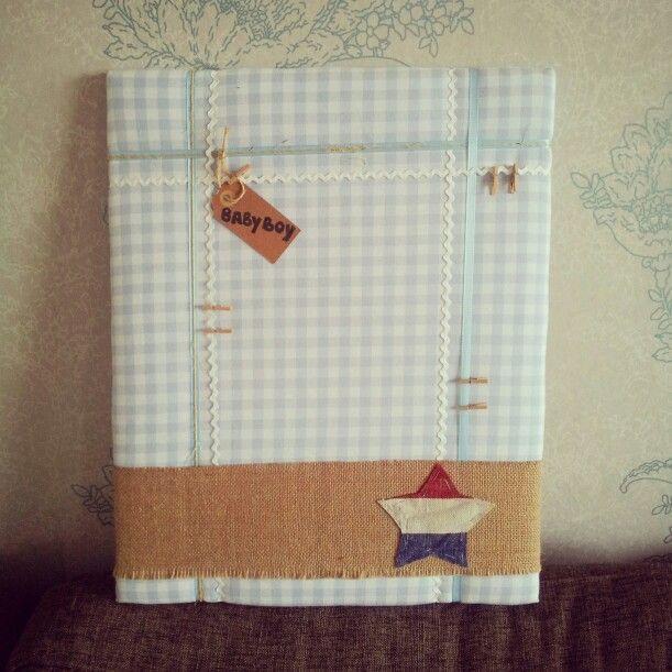 Babyshower gift : memoboard