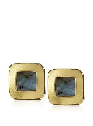 63% OFF Kanupriya Labradorite Stud Earrings