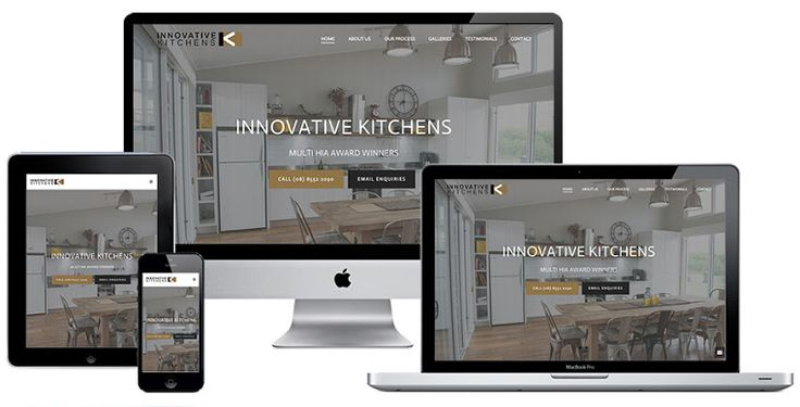 Ivolution Consulting - Adelaide Website Design - Innovative Kitchens