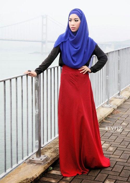 street-hijab-fashion:  Fitri Aulia #fabulous